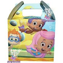 Cajitas O Letrero Felicidades Bubble Guppies. Para Tu Fiesta