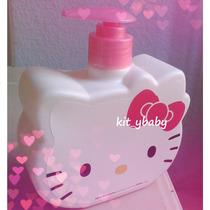 Hello Kitty: Dispensador De Jabón Líquido, 500ml, Original