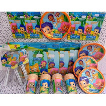 Paquete Plus Fiesta Bubble Guppies, Desechables