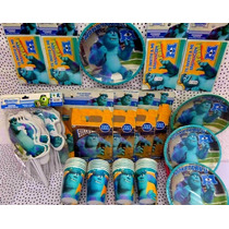 Paquete Plus Fiesta Monster University, Desechables Fiesta