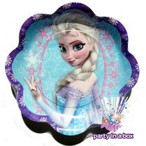 Platos O Vasos Para Fiesta De Elsa De Frozen. Nuevo Modelo.