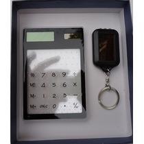Lampara Y Calculadora Solar En Paquete + Regalo