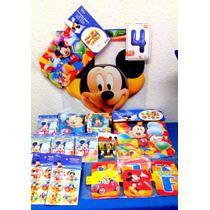 Paquete Complementos De Mickey Mouse, Desechables Fiesta