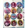 Aa Monster High 4 Docenas De Botones Fiesta