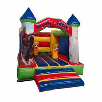 Brincolin Inflable Castillo Spiderman Impreso