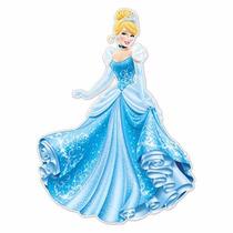 Mantel Servilletas Fiesta Princesas Disney La Cenicienta