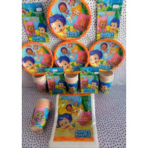 Paquete Básico Fiesta Bubble Guppies, Desechables Fiesta
