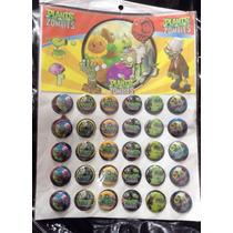 Plantas Vs Zombies 30 Minipines Artículos De Fiesta