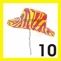 10 Sombreros Tipo Vaquero Brilloso Fiesta Baile Animación Xv