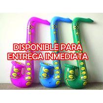1 Pza De Saxofón Inflable
