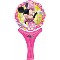 5 Globos Metálicos De 9 Pulgadas De Minnie Mouse, Fiesta