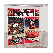 Poster P/ Decoracion Fiesta De Cars