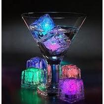 $9.00 C/u Hielo Con Luz Led Sumergible /bodas,eventos,