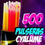 500 Pulseras Cyalume Neon Glow Batucada Fiesta Luminosos Dj