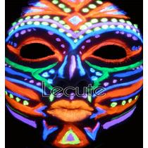 6 Crayones Luminosos Fluorescentes Maquillaje Pintura Neon