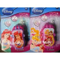 Fiesta De Princesas Disney, Celular Con Sonido Y Luz, Premio