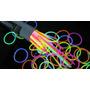 100 Pulseras Cyalume Glow Luminosas Neon Party Fiesta Hwo