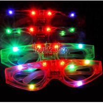 Lente Led Luminoso Luz Sencillos Varios Colores Fiesta Rave