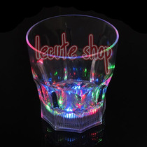 Vaso Whisky Luminoso Led Luz Whiskero Multicolor Fiesta Bar