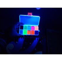 Maquillaje Profesional Xl Fluorescente Neon Base Agua Brilla