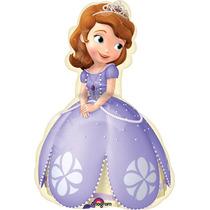 Globo Princesa Sofia 6 Pzas Medida 14 Para Centro De Mesa