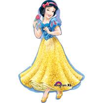 Globo Blanca Nieves Disney Paquete 3 Pzas Jumbo 28 Helio