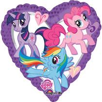 Globo My Little Pony Paq 10 Pzas 9 Pulgadas Centro De Mesa