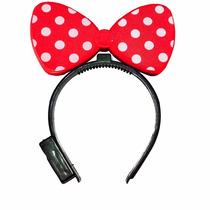 10 Diademas De Mimi Minnie Moño Mickeye Mouse Orejas Fiestas