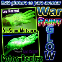 War Paint Neon Glow In The Dark, Importada De Reino Unido