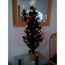 Arbol De Navidad Fibra Optica