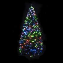 Arbol De Navidad De Fibra Optica Estrella De Regalo