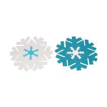 Copo De Nieve Foamy Fomi Fomy Decoración Frozen Navidad
