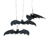1 X Halloween Murciélagos Colgando - 3 Piezas Set