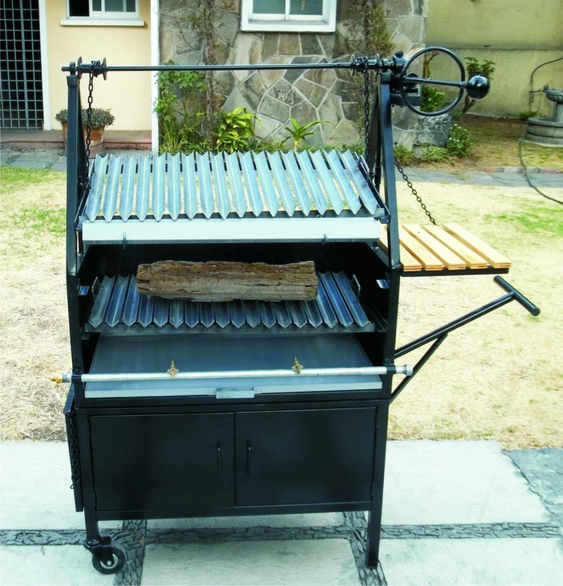 Asadores de carne al carbon tipo parrilla argentino - Parrillas para asar carne ...