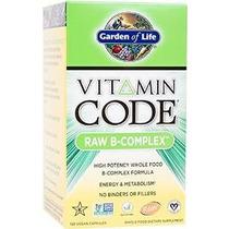Jardín De La Vida Código Vitamina Del Complejo B, 120 Cápsul
