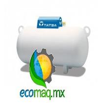 Tanque Estacionario De Gas Tatsa 180 Lt Ecomaq Mx