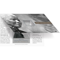 Estampilla Sudáfrica Nelson Mandela Con Folder De Colección