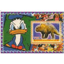 Disney Donald Y Dinosaurio Hojita Souvenir