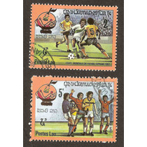 Laos Mundial De Futbol España 1982