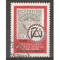 Mozambique Africa Centenario De L Primera Estampilla 1976