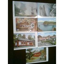 Lote Postales Antiguas Japón Sin Timbres 7 De Ellas