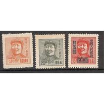 China Roja Estampillas De Mao
