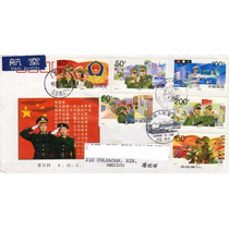 Ch190-china Fdc Circulado China-culiacán-
