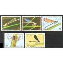 0454 Insectos Sahara 5 Sellos C T O N H 1995