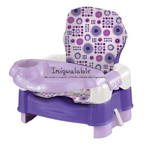 Asiento infantil para bebes morado safety 1 en for Asiento para bebe