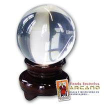 Esfera O Bola De Cristal Para Adivinación - Tamaño Chica
