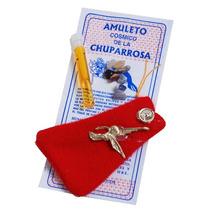 Amuleto Cubano Cósmico Chupa Rosa Para Atraer El Amor..