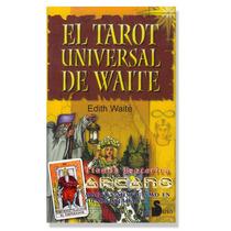 Tarot Universal De Waite - Edith Waite 78 Cartas En Español