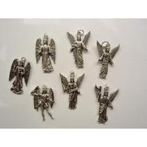 Kit D Dijes De Los 7 Arcangeles Plata Tibetana Para Cada Dia