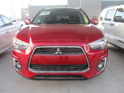 Mitsubishi Asx Es, Aut, 4 Cil, A/c Color Rojo, Modelo 2015